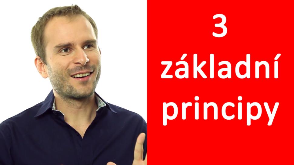 3 základní principy - David Kirš