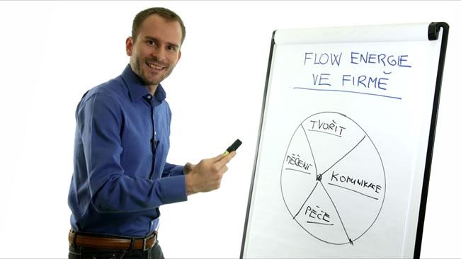 Jak teče energie ve firmě - David Kirš
